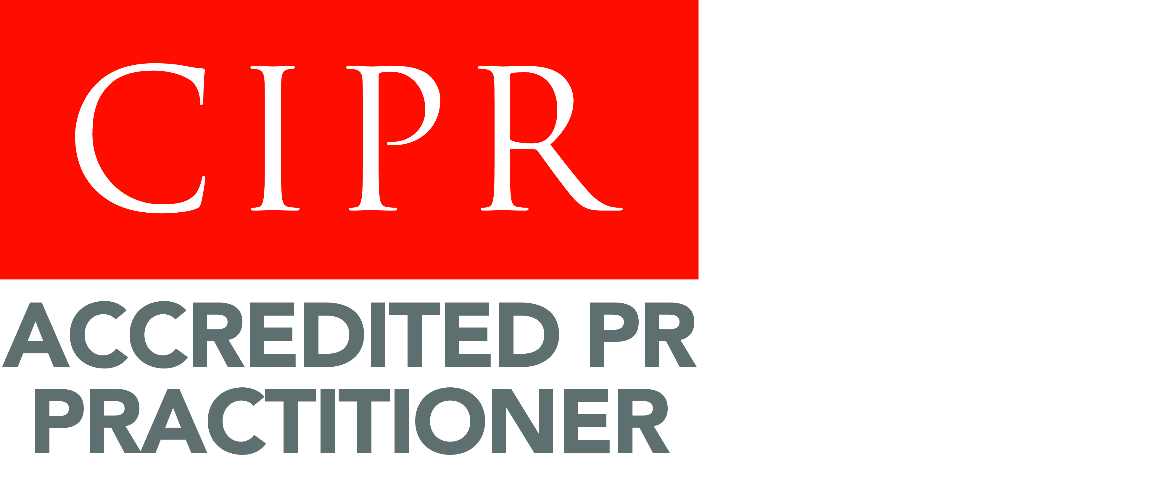 Chartered Institute of Public Relations. Accredited PR Practitioner (logo)
